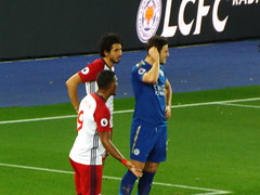 Leicester attack in the second half