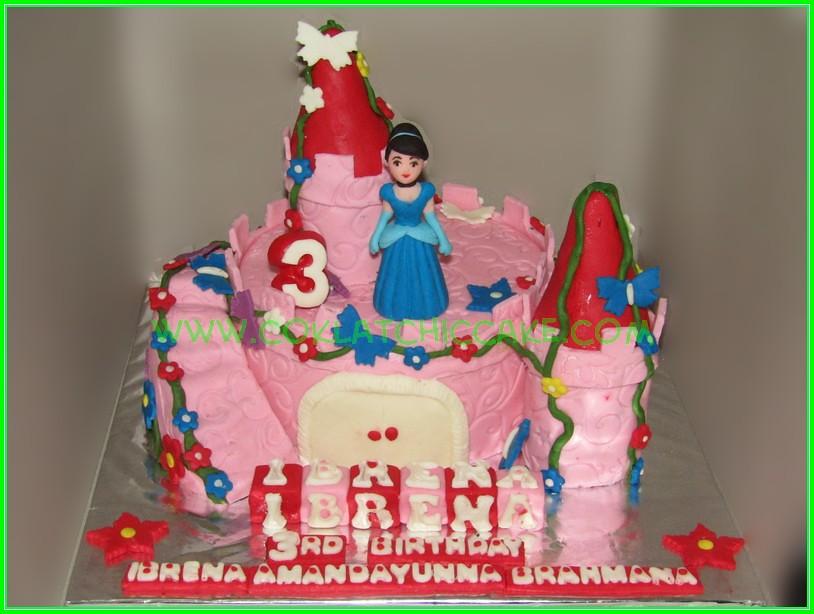 Cake Princes Castle - IBRENA