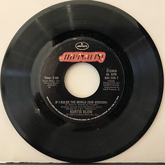 KURTIS BLOW:IF I RULED THE WORLD(RECORD SIDE-B)