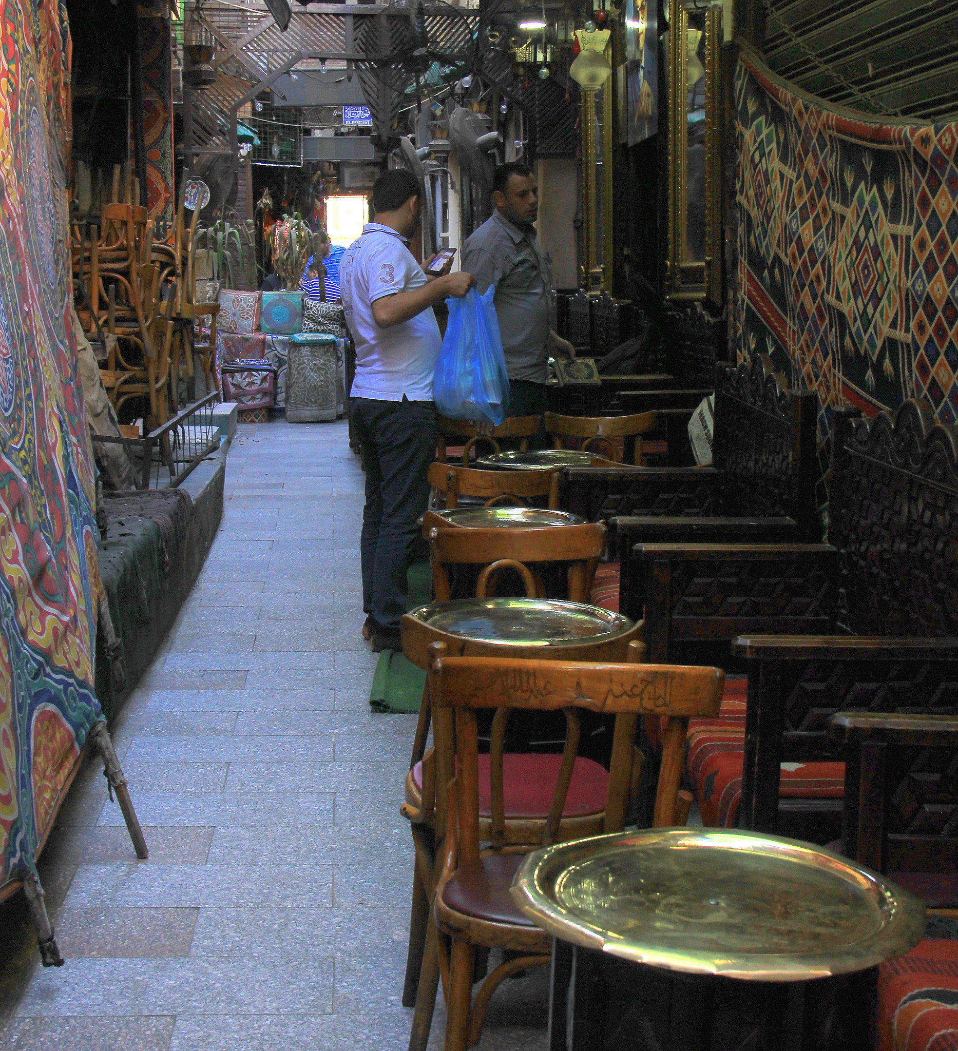 Al Fishawy cafe is mentioned in every Khan el Khalili guide