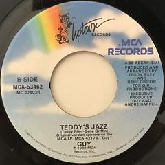 GUY:TEDDY'S JAM(LABEL SIDE-B)