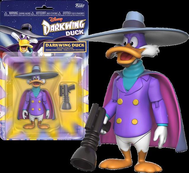 迪士尼動畫版的蝙蝠俠?Funko - 《午安迪士尼收藏輯:狡猾飛天德》 3.75吋人偶 Darkwing Duck