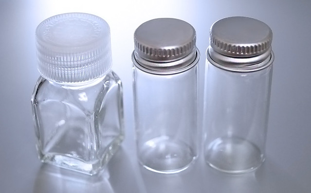 タミヤ スペアボトル 81043 万年筆インク 小分け ガラス瓶 タミヤる