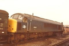 BR Class 45/0 45040 - Manchester Victoria