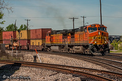 BNSF 5031 | GE C44-9W | BNSF Thayer South Subdivision