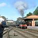 7812 Erlestoke Manor runs through Bewdley station.