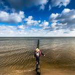 12. Oktoober 2017 - 11:23 - Strandausflug zwischen Bansin und Heringsdorf, mit der Familie und dem Weitwinkel