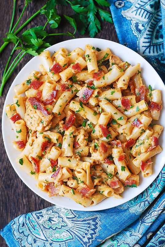 best chicken pasta, easy weeknight dinner recipe, family weeknight meals, family dinner menu ideas