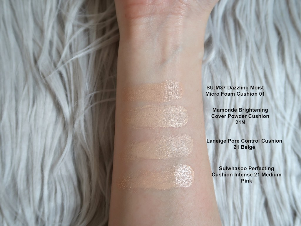 Swatches SUM37 Dazzling Moist Micro Foam Cushion