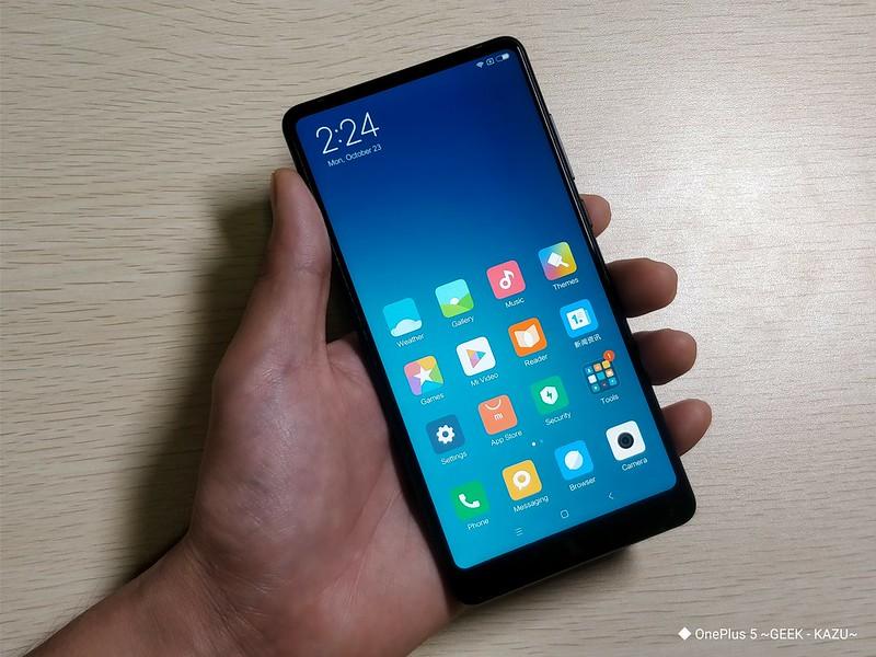 Xiaomi mi mix 2 開封レビュー (42)