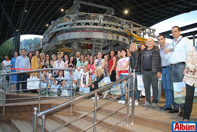 Christian Tour'un Macaristanlı acente satış temsilcileri Alanya'yı ziyaret etti- ALTAV