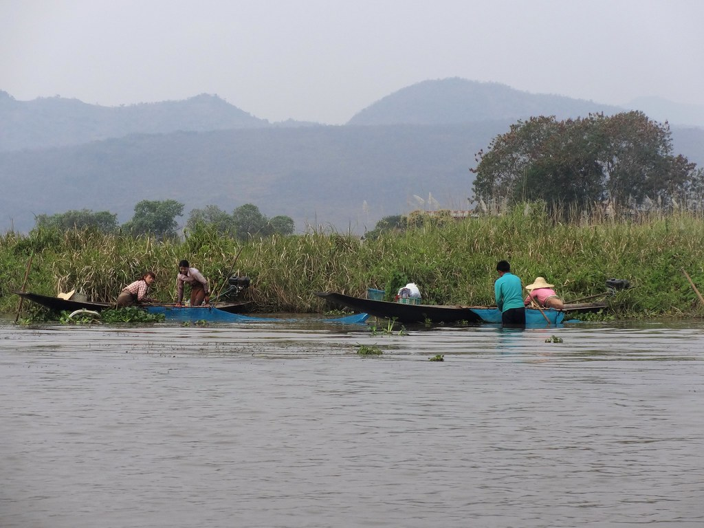 Jezioro Inle, Mjanma