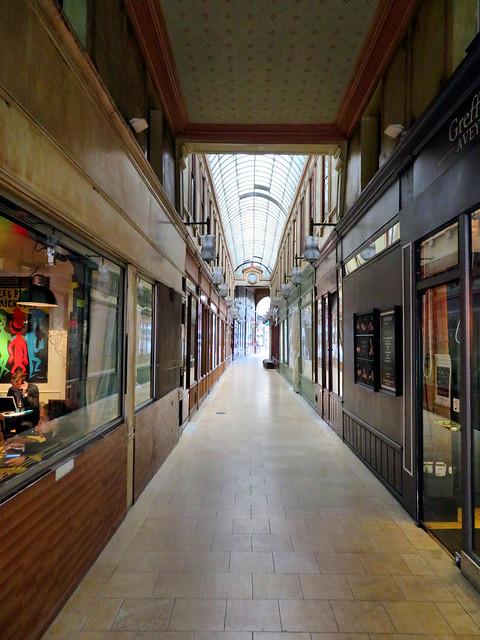 Covered Passage, Paris, France