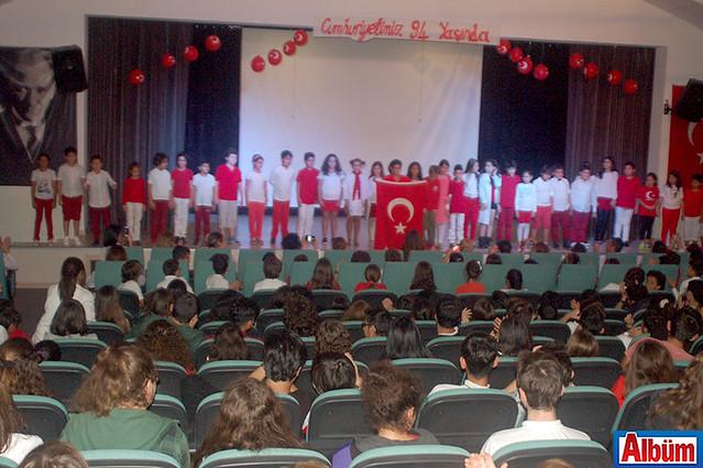 Doğa Koleji Alanya 29 Ekim Cumhuriyet Bayramı kutlaması -2
