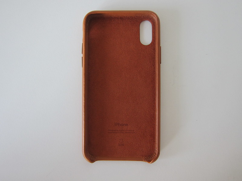 Apple iPhone X Leather Case - Front