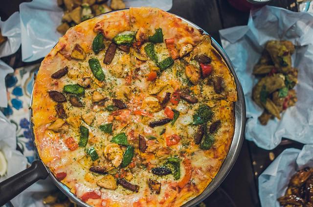 Cajun Spice Pizza
