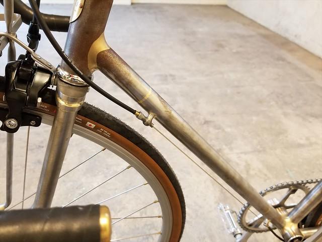 Corten steel fixed