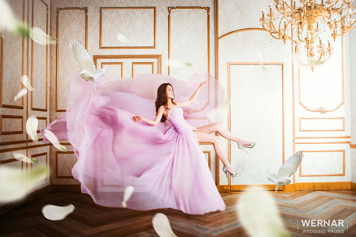 婚紗攝影,婚紗照,台中華納婚紗推薦,飄浮婚紗