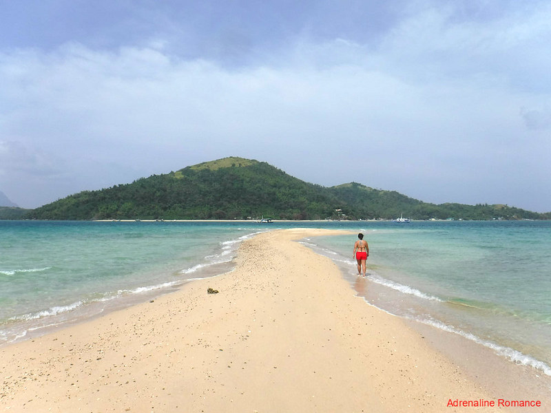 Bulubadiangan Island sandbar
