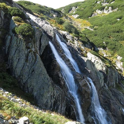 poland polen tatry tatras mountains góry gebirge waterfall