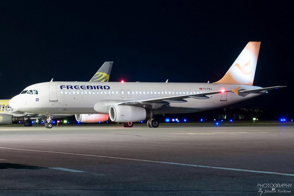Tc Fbj Freebird Airlines A320 200 Efpo Finland Airline Flickr
