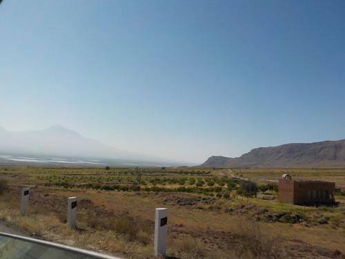 アララト山が見えてきた