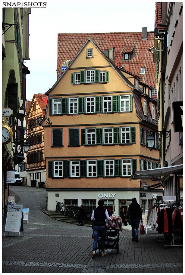 Tübingen am Neckar - inklusive Stocherkahnfahrer