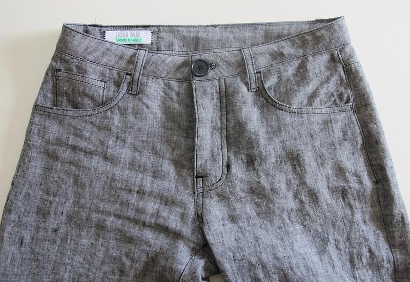 Linen Morgan Pants