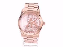 Michael Kors Women's Runway Rose Gold-Tone Watch MK5661