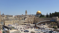 The Western Wall and surrounds.