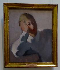 Gigi Chessa - Head of the girl 1930 Ermitage St. Petersurg