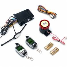 Motorcycle Two-way Alarm System with Two LCD Remote Controls (924734) #Banggood