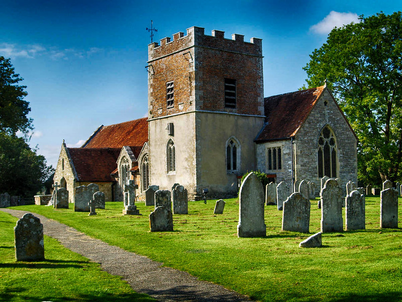 Boldre village church, New Forest. Credit Alan Stewart