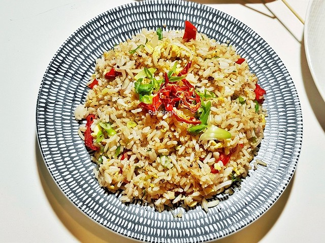 Quarters Fried Rice