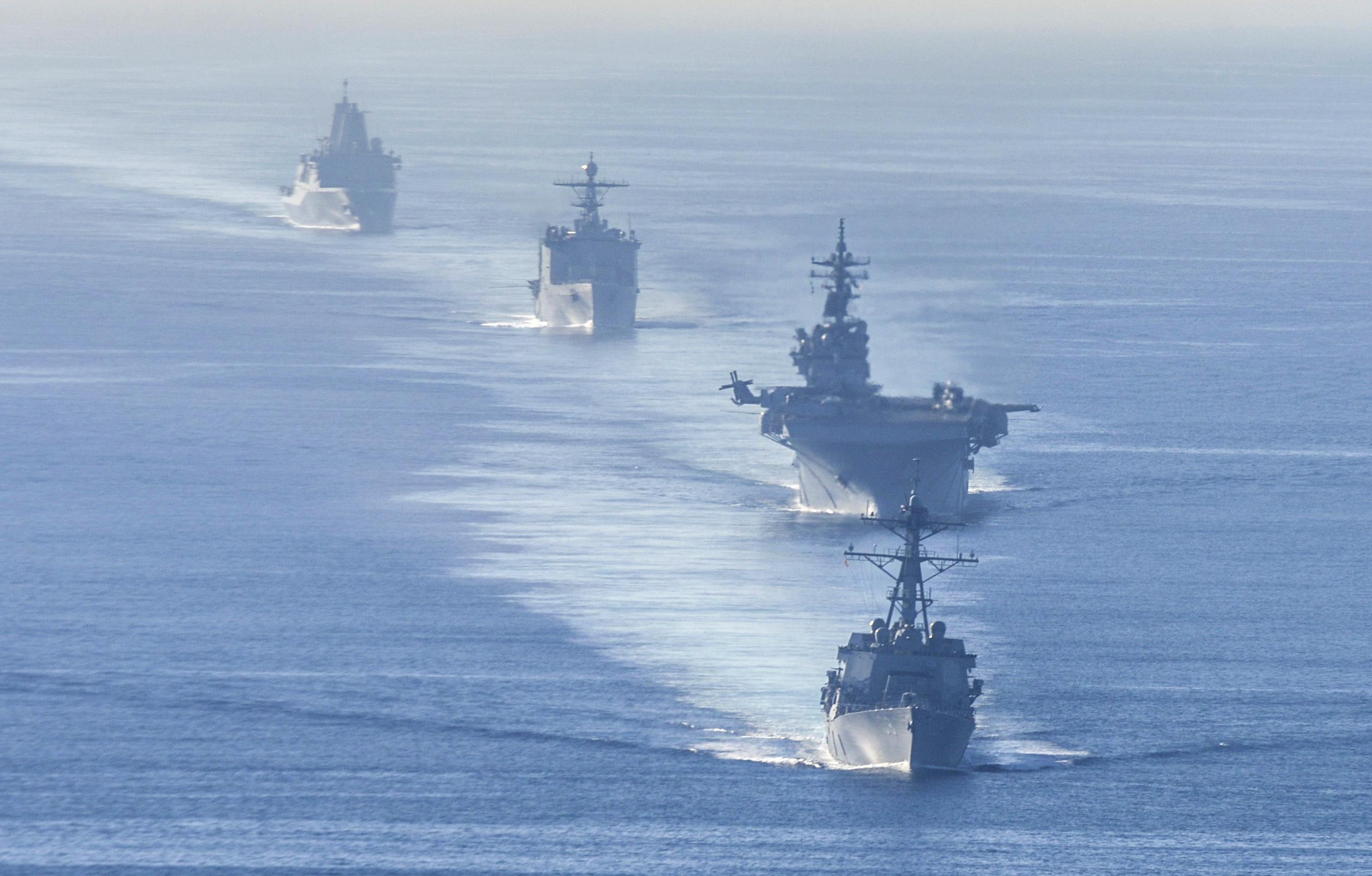 Commander, U.S. Pacific Fleet      Exercise Dawn Blitz concludes, setting standard for new amphibious capabilities
