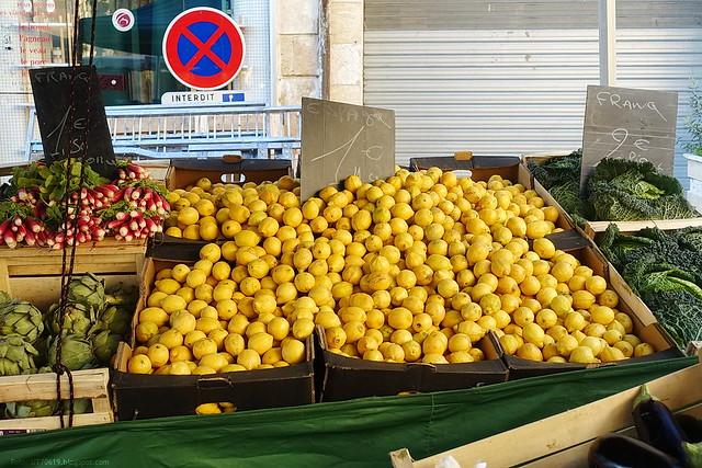 Markt Zitronen