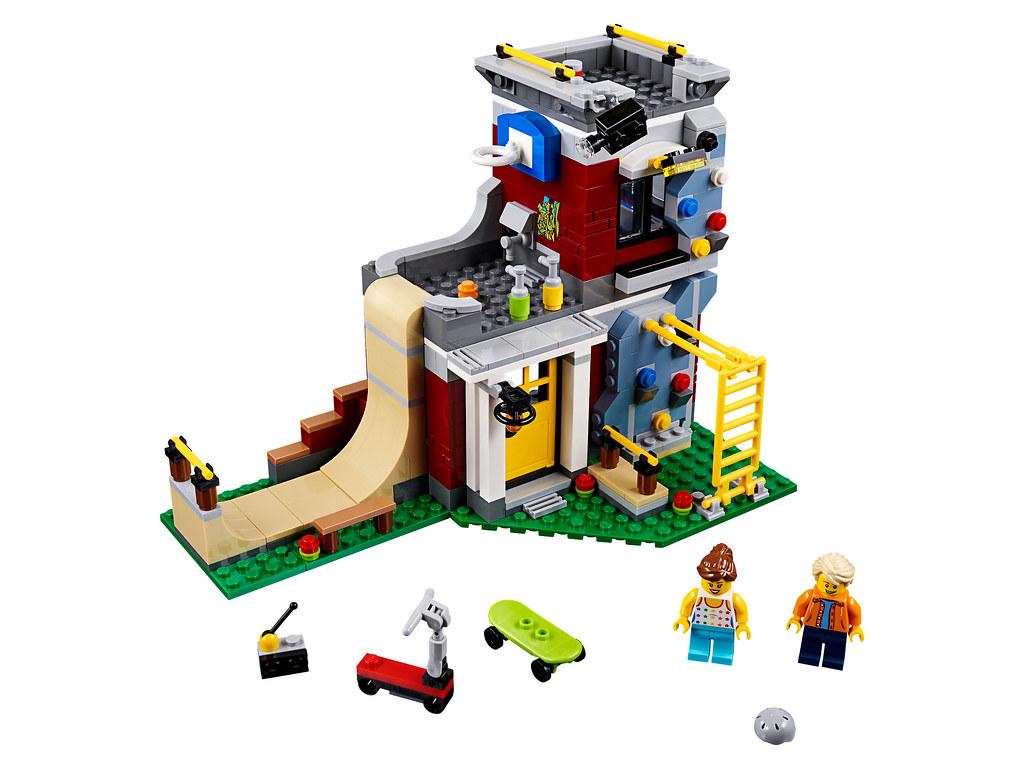 LEGO Creator 31081 - Modular Skate House
