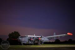 Avro Shackleton MR.3 under lights