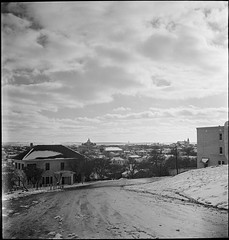 SMDR Photographic Negatives Collection, [1930s][Snow Scenes]