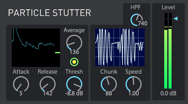 Particle Stutter ableton