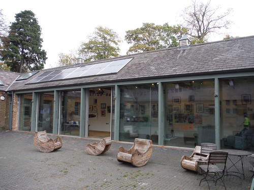 Art Gallery in Stable Yard, Morden Hall Park