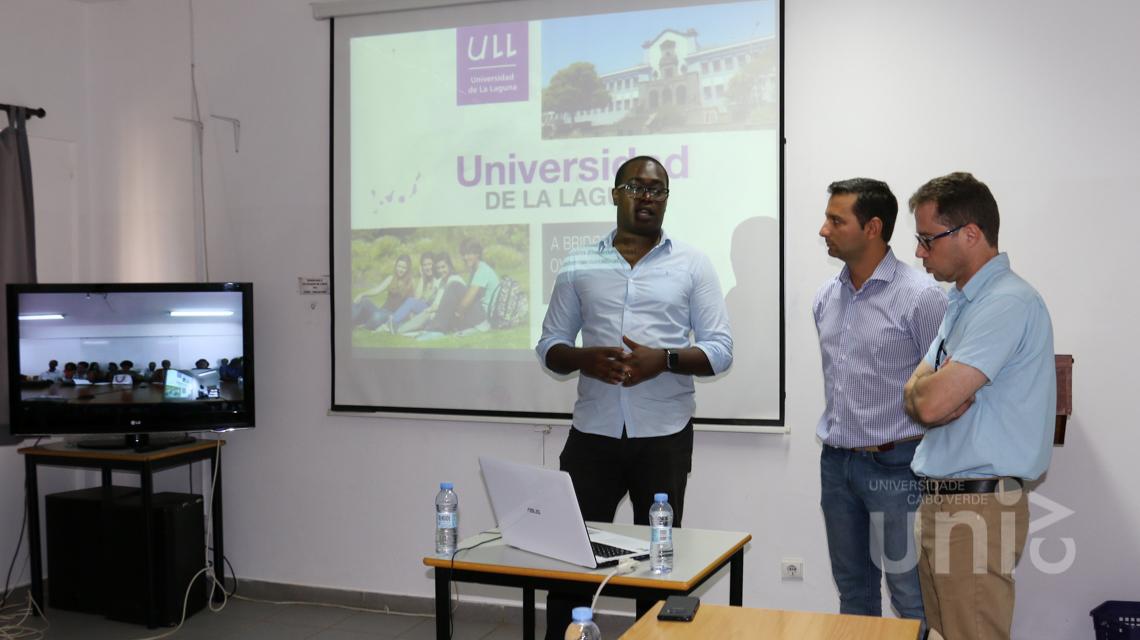 Programa Erasmus Plus da ULL apresentado aos docentes da Uni-CV