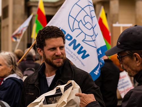 Kundgebung zum Antikriegstag 2017 in B