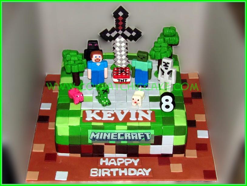 Cake Minecraft - KEVIN