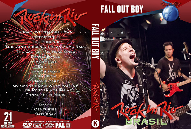 Fall Out Boy - Rock In Rio 2017