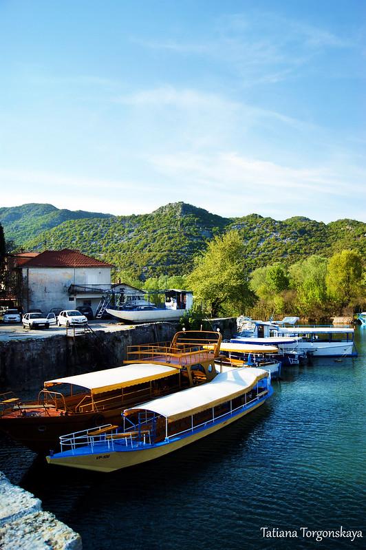 Лодки на Црмнице