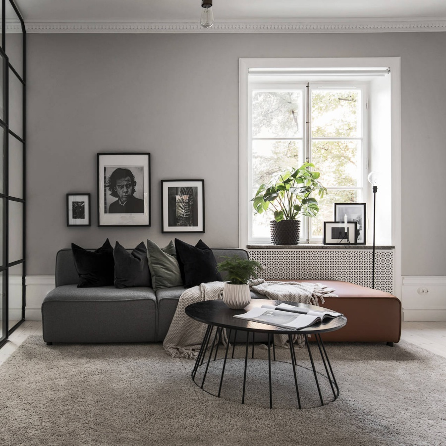 Minimal Home With Earthy Colors