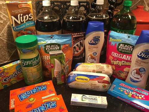 Drugstore Shopping October 15
