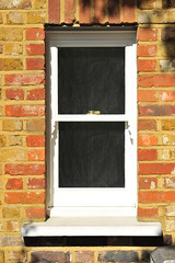 Bathroom Sash Window External