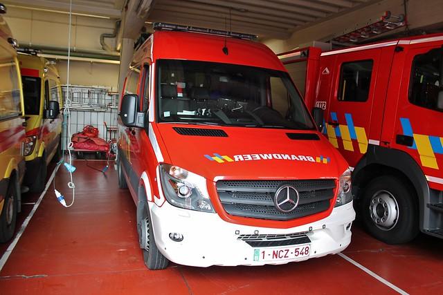 Signalisatiewagen Brandweer Aalst